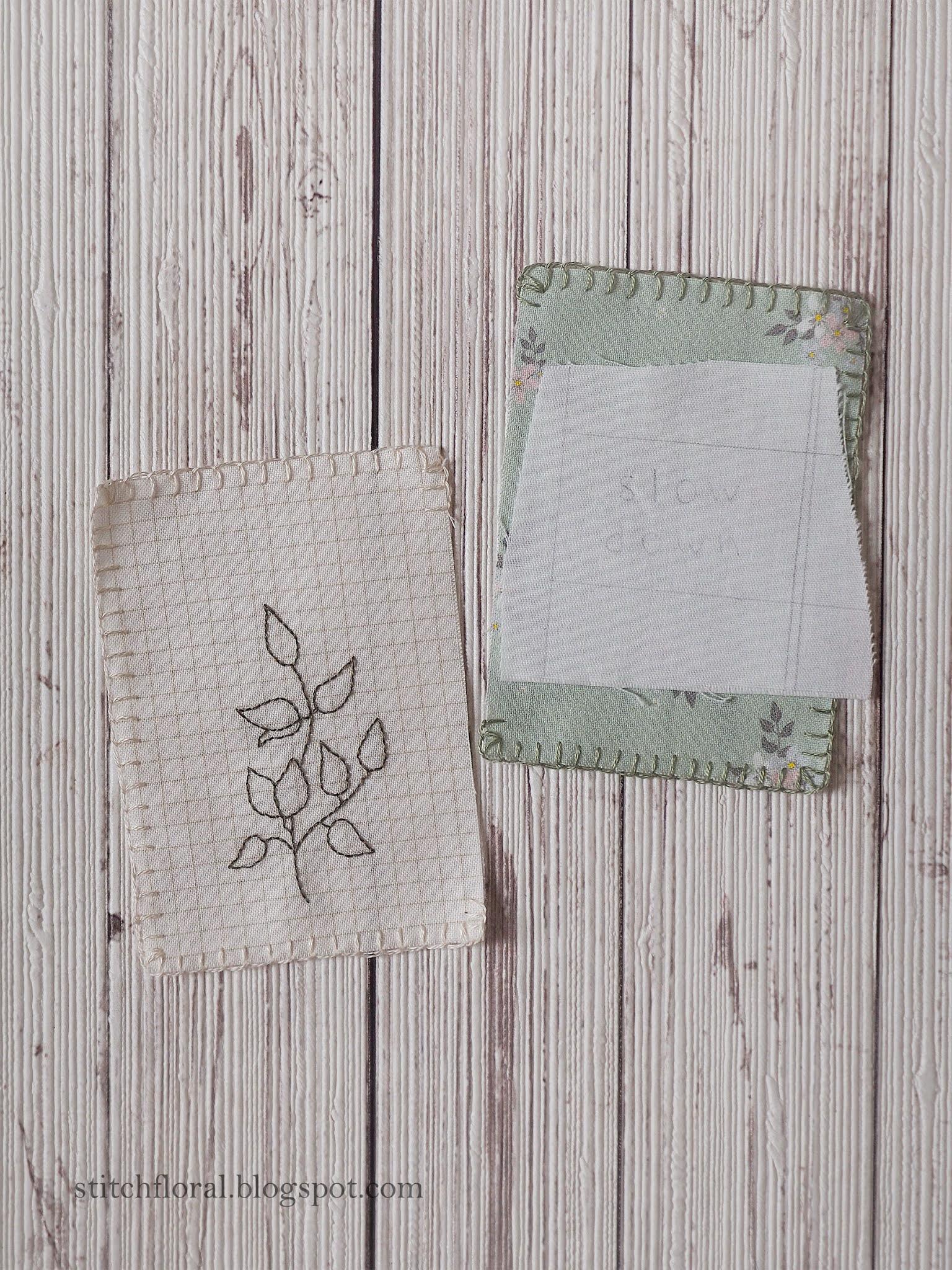 stitch book journal