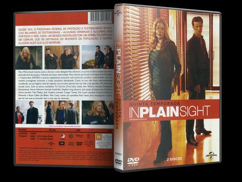 Capa DVD Testemunha Ocular 5ª Temporada (Oficial)