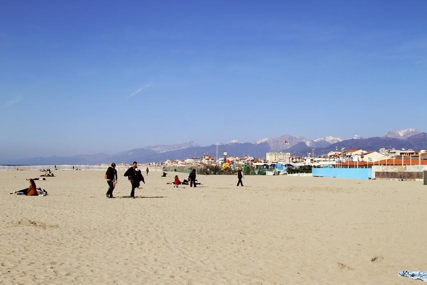 Plaża w Viareggio