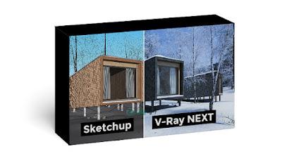 تحميل برنامج VRay Next for SketchUp Pro 2020 كامل مع التفعيل