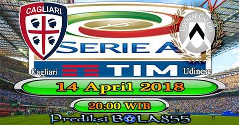 Prediksi Bola855 Cagliari vs Udinese 14 April 2018