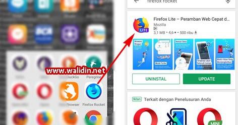 Firefox Rocket Jadi Firefox Lite  Apa Kelebihannya ~ Walidin