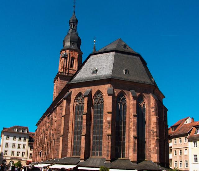 Heidelberg, Stare Miasto