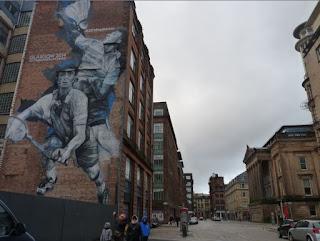 Badminton Mural, Glasgow.