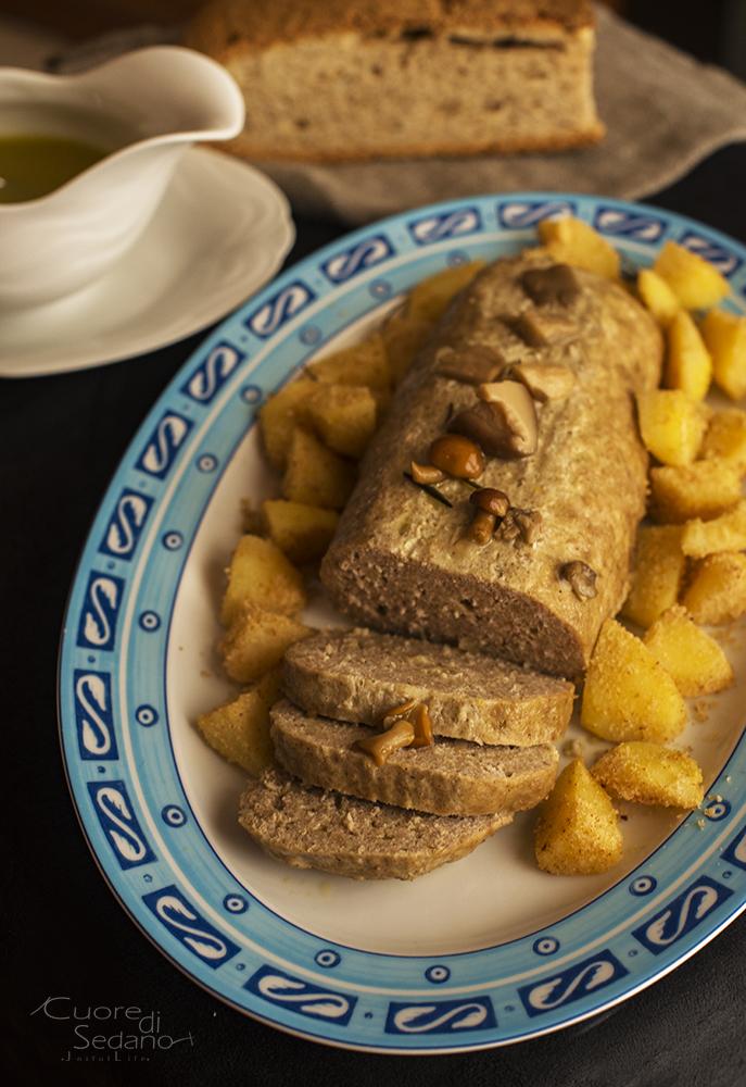 Amato Polpettone di carne e patate al vapore - Cuore di Sedano AH69