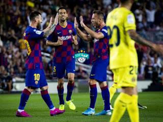 اخبار الدوري الاسباني مباراة برشلونة وريال مايوركا كورة vip