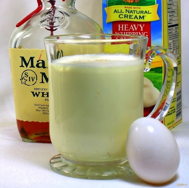Real Old Fashioned Eggnog