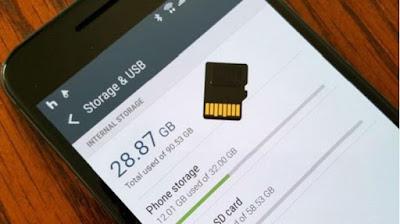 memori hampir penuh di android