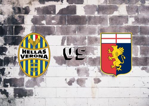 Hellas Verona vs Genoa  Resumen