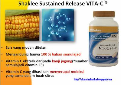 vitamin c, shaklee