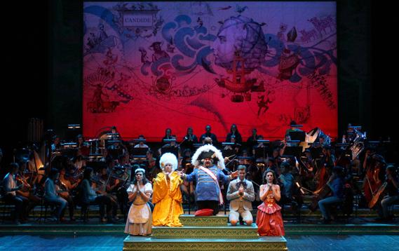 Candide en los Teatros del canal