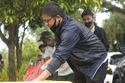 Antar MTR-RL Ke KPU Luwu Utara, Relawan Rumah Kita Pungut Sampah