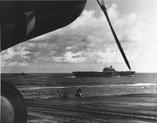 USS Hornet, 13 May 1942 worldwartwo.filminspector.com