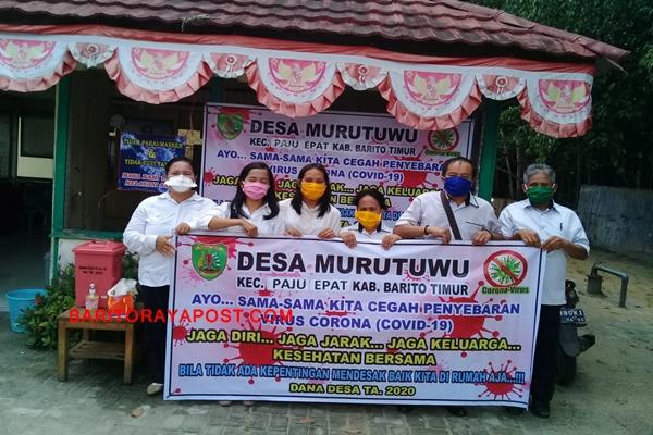 Penyemprotan Disinfektan di Wilayah Desa Murutuwu Tampak Berbeda, Baca Selengkapnya!