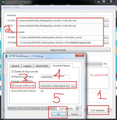 Cara Atasi Asus Zenfone 4 Tidak Bisa Masuk Droidboot Tested