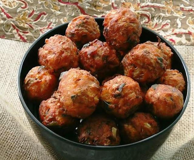 Spicy Cabbage Balls