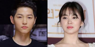 """มาแสดงความยินดีกับ ซองเฮคโย และซงจุงกิ ด้วยภาษาเกาหลีกัน """"세상에서 가장 아름답고 행복한 부부가 되세요"""""""