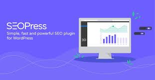 blue background seo press wordpress plugin