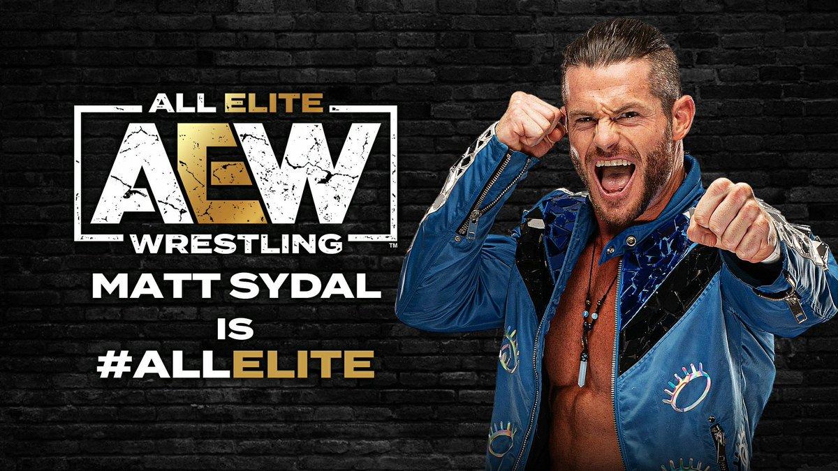 Matt Sydal assina com a All Elite Wrestling