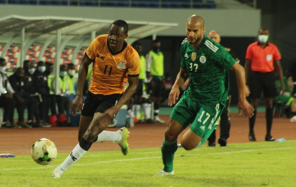 تصفيات كأس إفريقيا للأمم: المنتخب الجزائري يعود بتعادل من زامبيا