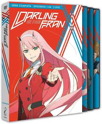 Darling in the FranXX, edición Blu-ray de Selecta Visión.