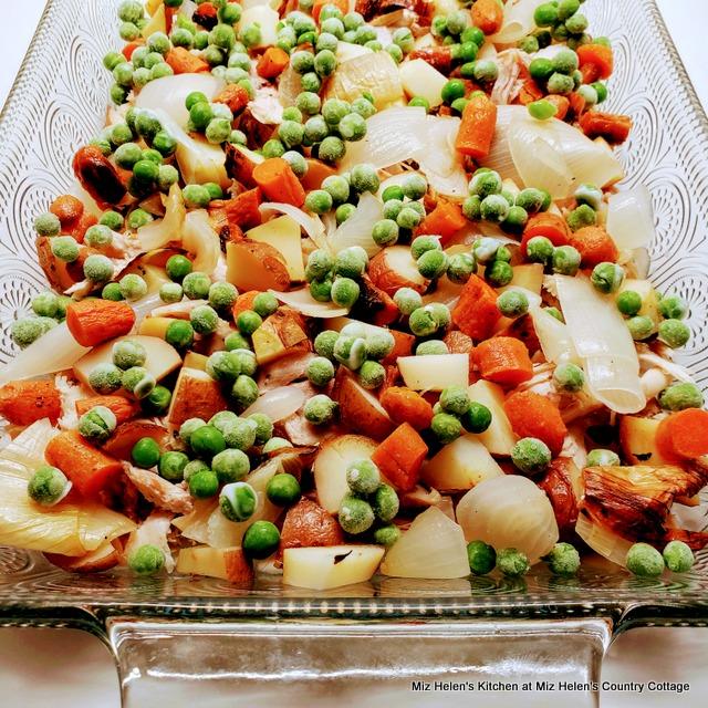 Roasted Chicken & Vegetable Casserole at Miz Helen's Country Cottage