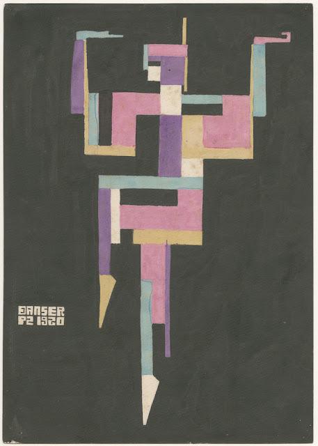 Piet Zwart | Bailarina (1920) | Crédito: Gemeentemuseum, Den Haag, Holanda © Zwart, Piet /AUTVIS, Brasil, 2016