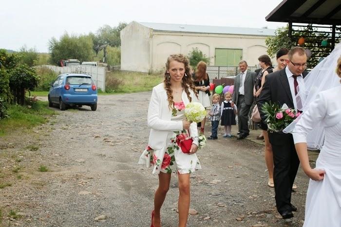 ślub kuzyna Tomka
