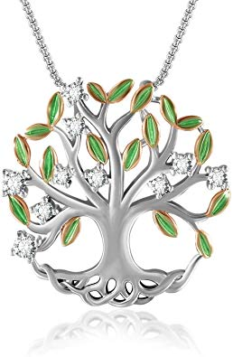 Family Tree of Life Pendant Necklace  65%off
