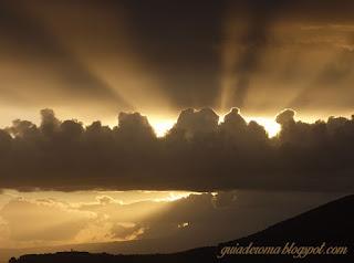 Por do sol nos arredores de Roma, Cittaducale