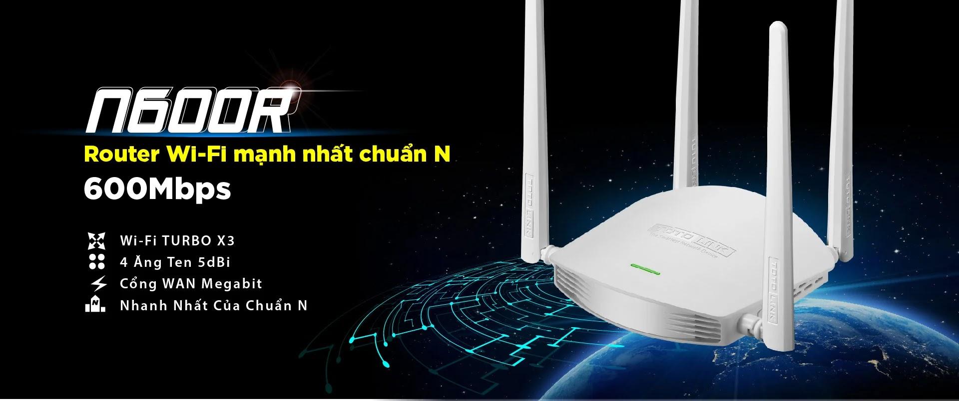 Đánh giá WiFi Totolink N600R