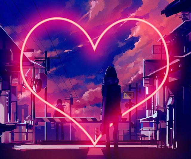 neaon light love photo download