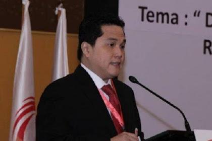 Erick Thohir Buka Rekrutmen Buat PNS dan Non PNS Pengisian Jabatan Pimpinan Tinggi BUMN
