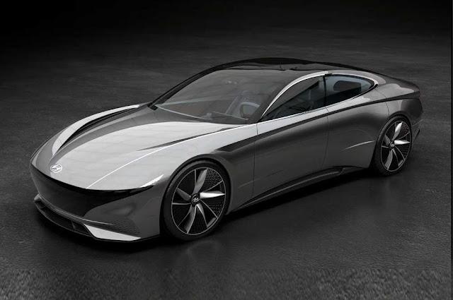 Desain Mobil Sport Terbaru Terinspirasi UFO dengan Konsep Futuristis