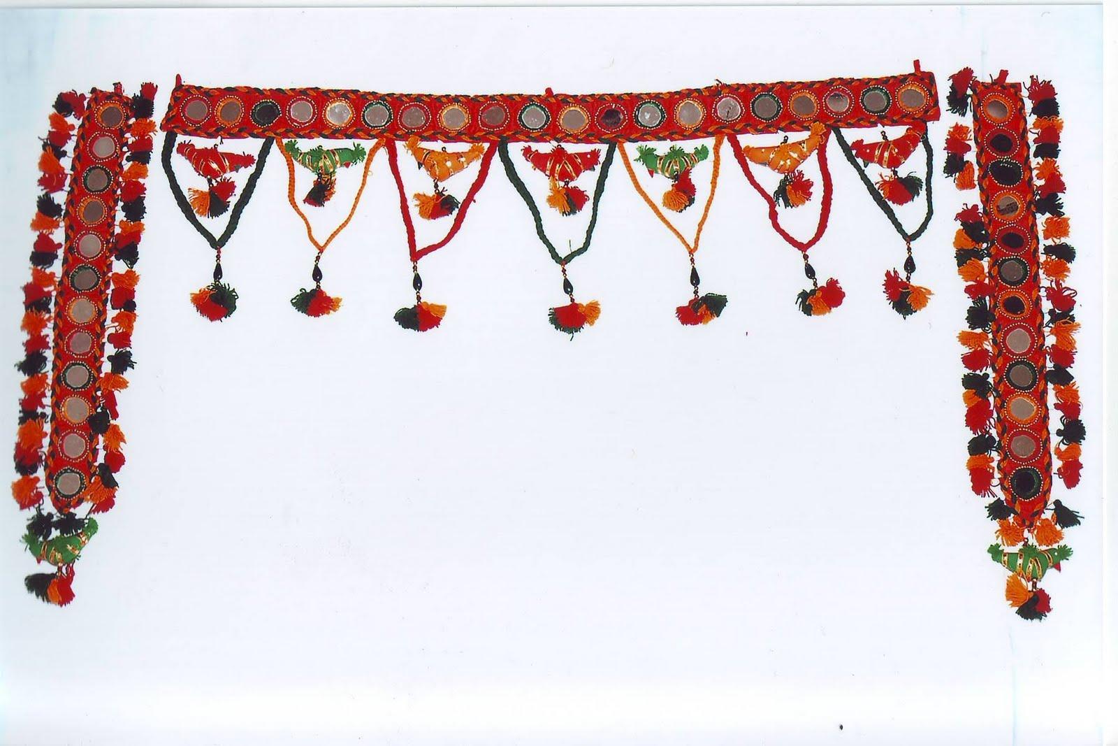 Paramhandicrafts Toran Wall Hangings And Keychains