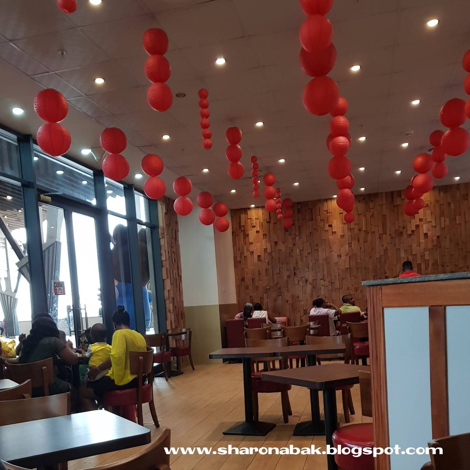 Kumasi City Mall Sweet Roses Chinese Food Restaurant Review