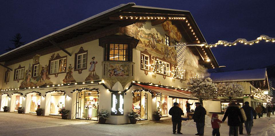 Garmisch-Partenkirchen Alta Baviera Germania