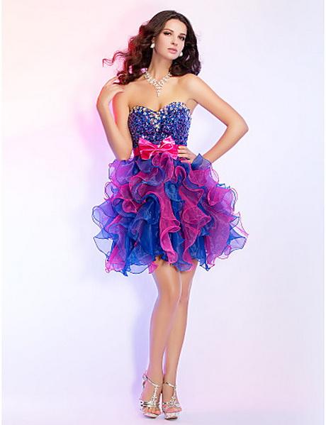 Vestido de moda bicolor