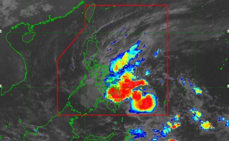 'Bagyong Auring' PAGASA satellite image latest