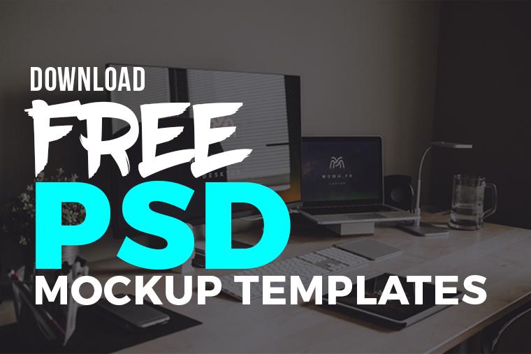 free psd mockup templates graphic design freebies