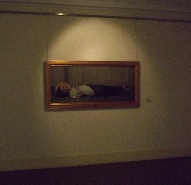 quadro de pintura exposto em museu