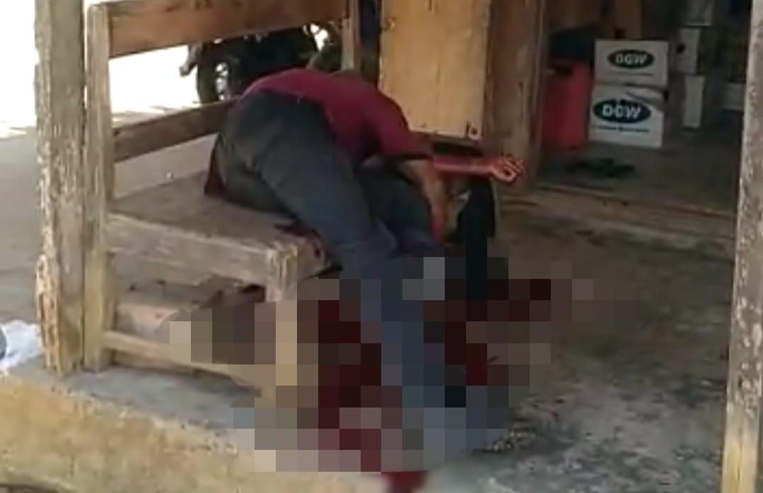 Beredar Video, Diduga Warga Sukamaju Selatan Ditikam Hingga Tewas