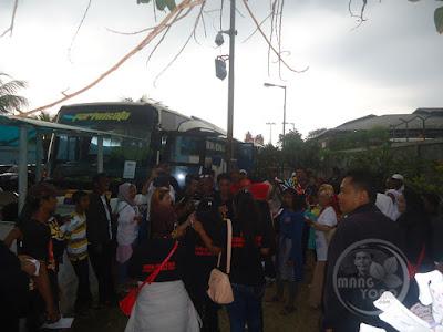 Ini Laskar Indonesia dan Masyarakat kecamatan Jabong pendukung Asep AS Subang
