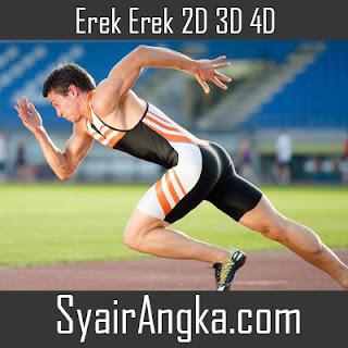 Erek Erek Menjadi Atlet 2D 3D 4D