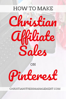 How to make Christian affiliate sales on Pinterest