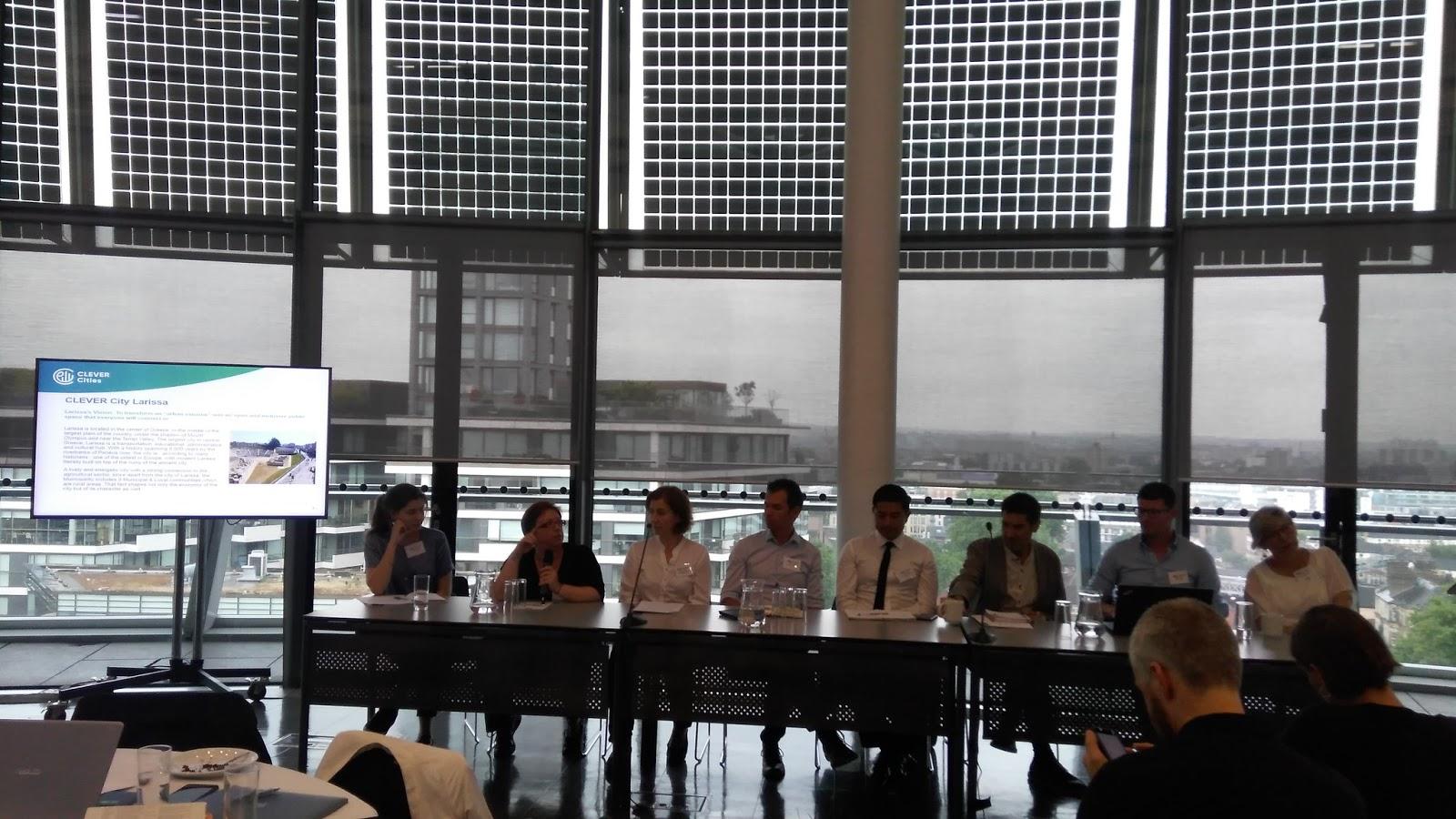 Προχωρά η υλοποίηση του ευρωπαϊκού προγράμματος HORIZON 2020 CLEVER Cities από το Δήμο Λαρισαίων