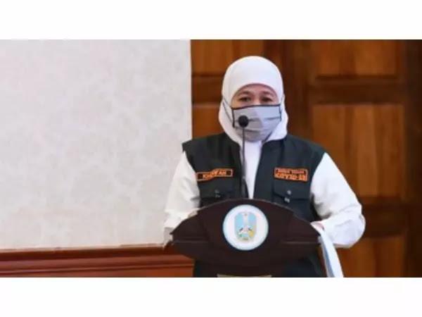 Gubernur Jawa Timur, Khofifah Terkonfirmasi Positif Covid-19