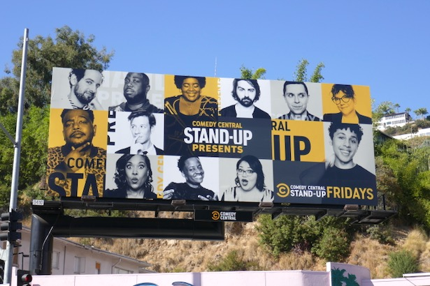 Comedy Central Standup Presents billboard