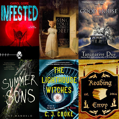 book covers from books discussed in this episode, listed below