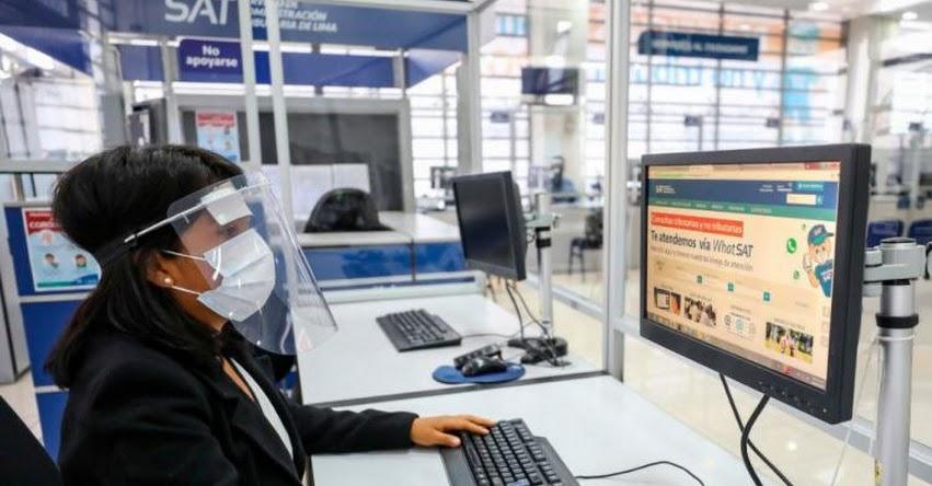 SAT de Lima otorgará a contribuyentes descuento del 10% para el Pago Anual de Arbitrios 2021 - www.sat.gob.pe